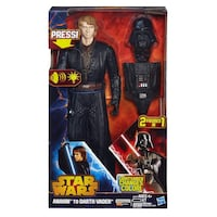 Hasbro Star Wars Anakin to Darth Vader Action figure Vaughan, L4L 5E2