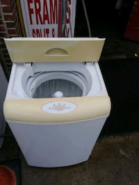 Portable Washer Needs Home..