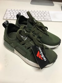 Olive green NMD little kids toddler Sz 13 RARE