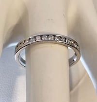 14k white gold ladies diamond eternity band* Compare at $1,400 Vaughan, L4J