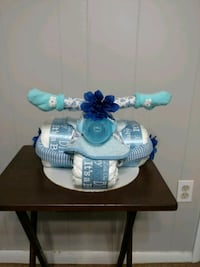 Diaper Cake Tricycles for girl and boy