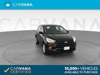 2017 Ford Escape suv S Sport Utility 4D Black <br />