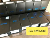 New sealed Samsung S8, Note 9, S9+ Plus,  Brampton, L6Y 1N7