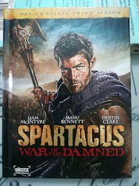 Spartacus War of the Damned - Complete 3rd season