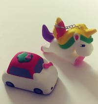 Unicorn and Hello Kitty Car Squishy Toys ALBUQUERQUE