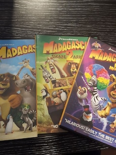 Dreamworks|Madagascar movie collection