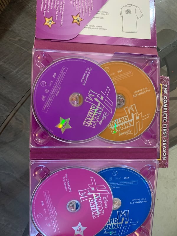 Hannah Montana season 1 DVD set 2