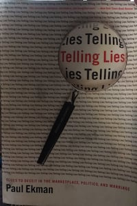 Telling lies by Paul Ekman