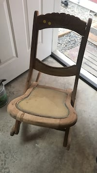 Antique folding rocking chair Bremerton, 98312