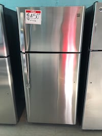 Kenmore Stainless steel top and bottom fridge Reisterstown, 21136