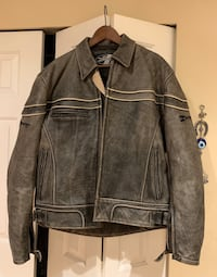 Jacket. Leather. Motorcycle jacket.  North Vancouver, V7G