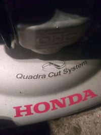Honda top of the line mowers quadra cut with Roto stop blade control