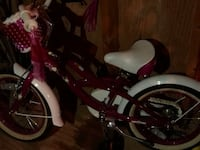 toddler's pink and white bicycle Ellicott City, 21042