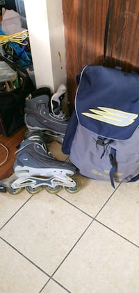 Inline skating shoes  size US 11 Vancouver, V6P 4M8
