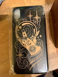 iPhone 10 max wooden case brand new  Covina, 91722