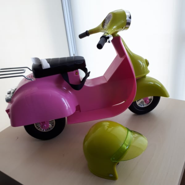 Our Generation Scooter (Pink) for Dolls