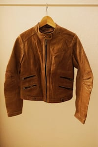 Brown Leather Jacket Berlin, 12043