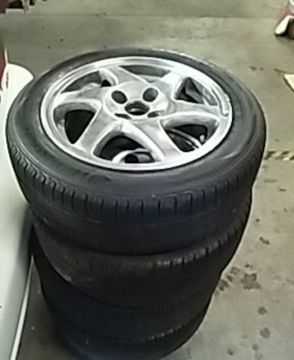 "Used Honda Acura Gsr Blades Wheels Rims Tires 15"" For Sale"