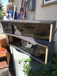 Cool industrial looking shelving units. In good shape. Just dusty Stockton, 95204