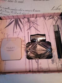 Gucci bamboo perfume set the real thing  Billerica, 01821