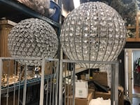 Decorated Crystal balls 6-8 available you can hang it too Vaughan, L4L 8K5