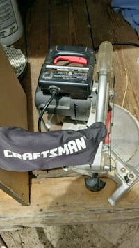 gray Craftsman miter saw Wayne County, 28333