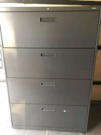 gray metal 4-drawer filing cabinet Takoma Park, 20912