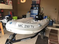 Dinghy with Motor and Trailer New Baltimore