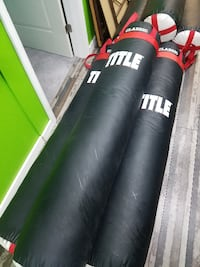 Used 6 Ft Title Muay Thai Heavy Bags