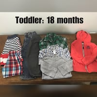 toddler's assorted clothes Covington, 98042