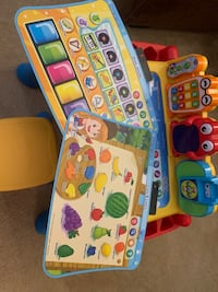 V-Tech learning and activity table