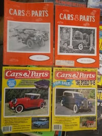 Vintage 'Cars & Parts' Magazine Collection 1968-00 Indianapolis, 46201