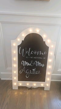 Chalkboard vintage Stand/Add your special saying Chicago, 60652