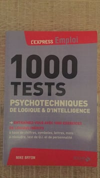 1000 tests psychotechniques  Toulouse, 31400