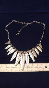 Metal Feather chain