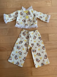 American Girl Doll Monkey Pj's