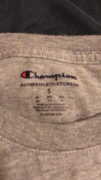 Champion Long Sleeve Grey