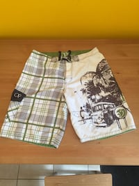 white and black plaid shorts Montréal, H2S 2M3