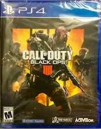 Black Ops 4 PS4 BRAND NEW SEALED Alexandria, 22310