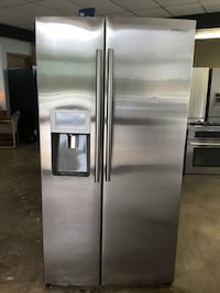 stainless steel side-by-side refrigerator with dispenser O'Fallon, 62269