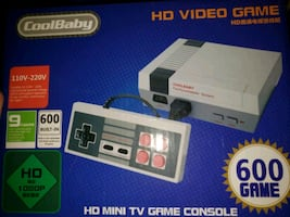 600 Games in 1 System Game Console