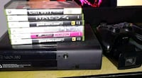 Xbox 360 with 6 games Fontana, 92335