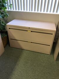 Two drawer lateral filing cabinet Murrieta