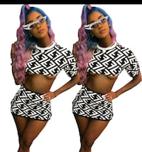 ladies Fendi two piece outfit Chicago