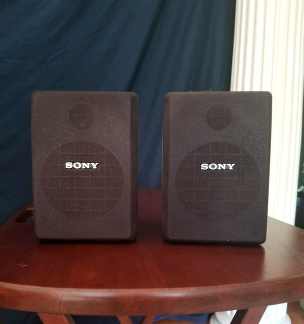 Sold Sony SA-VA1 Active Surround Sound Speaker System. In