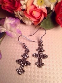 Cross Earrings  Edmonton, T5W 5B7