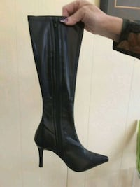 A Pair Of All Pleather Knee High Boots Toronto, M2M 1P7