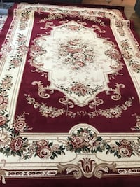 new Traditional  Area Rug size 8x11 nice red carpet Persian style rugs