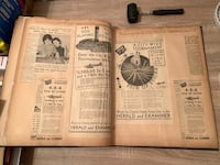 1937 Chicago Herald and Examiner Scrapbook - Pick Up Sticks Ephemera Baltimore, 21205