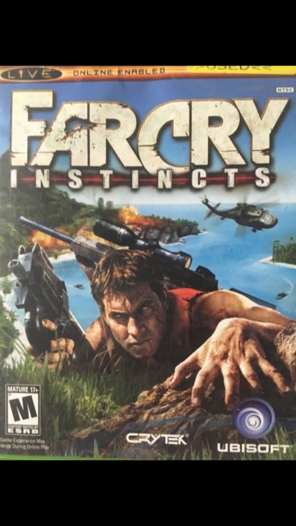 Ubisoft farcry insticts game